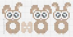 - Perleinspiration til børn og voksne Hama Beads Design, Hama Beads Patterns, Beading Patterns, Tapestry Crochet Patterns, Melting Beads, Beaded Cross Stitch, Easter Crafts, Perler Beads, Hams