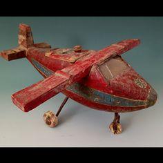 Anonymous Works-folk art plane
