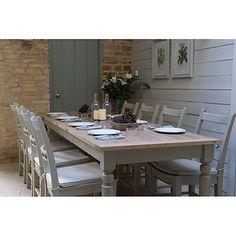 Neptune Suffolk 8-12 Seater Rectangular Extending Dining Table