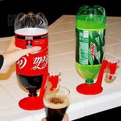 Magic Saver Tap Coca-Cola For Dispenser Bottle Coke Party Bar Kitchen Gadget Hot Coca Cola, Soda Drink, Family Get Together, Carbonated Drinks, Alcoholic Beverages, Cocktails, Soda Bottles, Water Bottles, Reuse Bottles