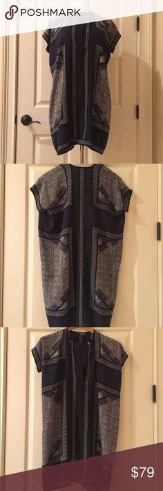 Vince Navy dress size XS Vince dress size XS. Super cute and comfy. In excellent condition. Vince Dresses Mini