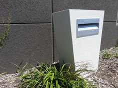 creative mailbox design ideas modern mailboxes house exterior - Modern Mailboxes