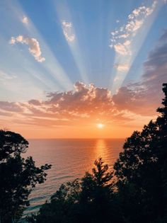 Feed | VSCO Pretty Sky, Beautiful Sky, Beautiful Scenery, Summer Sunset, Summer Vibes, Summer Baby, Sunrise Wallpaper, Forest Sunset, The Sky Is Falling