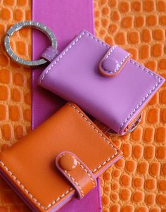 Leather Accessories by  Carolyne Roehm