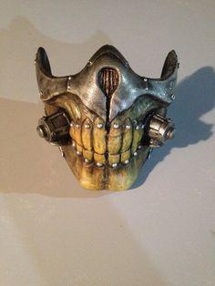 Mad Max Fury Road: Immortan Joe 3D Printed mask by Eckko
