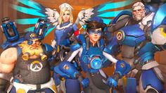 Check out these latest '#Overwatch ' skins from the #UPrising ' event that are awesomely retro