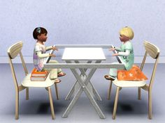 Universal Toddler Seats by Danjaley - Sims 3 Downloads CC Caboodle