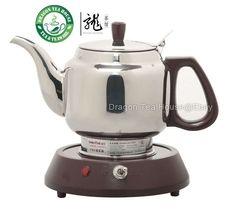 1.2L Household Mini Double Dragon Classic Cast Iron Teapot Tea Kettle Teaware with Handle