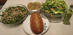 Gingered seitan and soba; bok choy soup; citrus, cucumber, bok choy salad and dressing, whole-wheat oat bread--all recipes in upcoming Vila SpiderHawk cookbooks