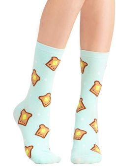 These butter and toast socks ($11). | 29 Products That Will Make You Love Breakfast Even More