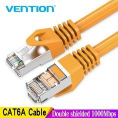 Marca: aliexpress es Vention-Cable Ethernet Rj45 Cat 6a Lan Cable de red UTP RJ 45 para Cat6, Compatible con Patch Cord Computer Router, Modem Router, Wifi Router, Cat6 Cable, Patch Cord, Cord Management, Wireless Lan, Network Cable, Patches