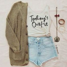 sweater jewels t-shirt white tied sweater green shorts shirt outfit fashion blouse high waisted short crop tops ootd tank top green cute, dress, hipster, brunette, wear light blue today's outfit tshirt