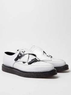 e979743afe72 what  excuse me  That s what I thought. Underground for Mugler White  Creepers