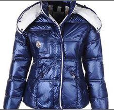 Moncler Womens Quincy Doudoune Down Jacket Shiny Blue -   off discount  code  happywinter 28d090fad81
