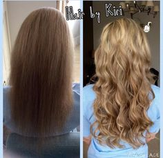 """LA WEAVE 20"""" Russian remy hair extensions in mixed blondes 120g. Hair lasting 1 year with aftercare and refit. Mobile hairdresser, durham & North Wales"""