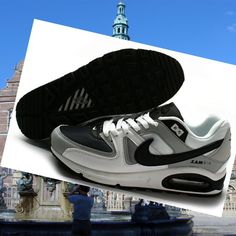 Heren Schoenen Nike Air Max Command Wit Grijs Zwart HOT SALE! HOT PRICE!