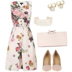 """""""Garden chic wedding"""" by allypascally on Polyvore"""