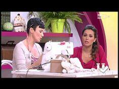 ▶ La nuova tutor Emanuela Tonioni cuce una lampada frou-frou - Detto fatto del 17/01/2014 - YouTube