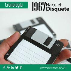 El #Disquete un articulo utilizado hace años atrás fue inventado en 1967, con una medida inicial de 8 pulgadas, fue el primer #Invento diseñado en pro de la #Portabilidad sustituido actualmente por las memorias #USB.