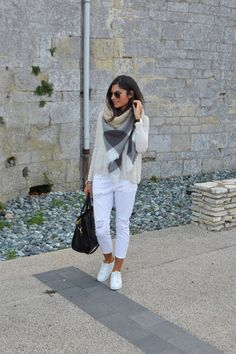 outfit blanc