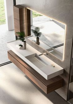 Cubik: modern furniture for designer bathroom décor - Ideagroup Rustic Bathroom Shelves, Industrial Bathroom, Bathroom Design Luxury, Bathroom Sink Design, Bathroom Layout, Beautiful Bathrooms, Bathroom Renovations, Remodel Bathroom, Bathroom Inspiration