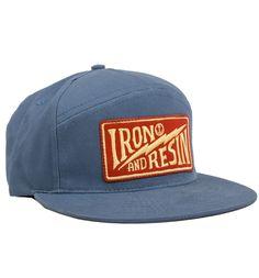 Journeyman Hat – Iron and Resin