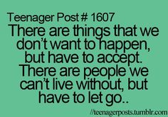 hard to accept, but so true.