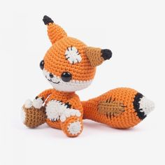 Messy The Fox Amigurumi Pattern