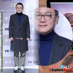 Kim Eui-sung attends a press junket for new film 'Golden Slumber' FOLLOW US @ExploreBody #ExploreBody #Hallyu #Korea #Drama #KDrama #Kpop #UFC220 #Bellator192 #TellMe5thWin #TroyeOnSNL https://t.co/IhaK8DaHCC
