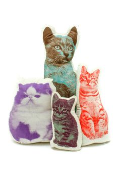 Cat Pillows...until I can have a real kitty again