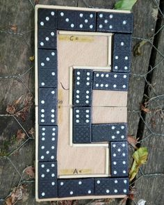 Field puzzle at a multi cache. This is a cool idea of something simple to construct and not too hard to solve when you reach the #geocache coordinates. (digging_mole pic)