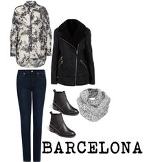 Travel Outfit BARCELONA in WINTER