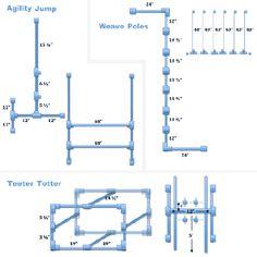 PVC DIY Dog Agility Course