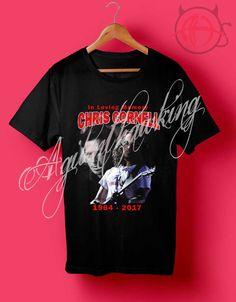 e8e6d38e8f025c Chris Cornell In Loving Memory T Shirt