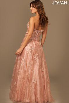 Jovani 98758 Evening Dress Sweetheart Neckline