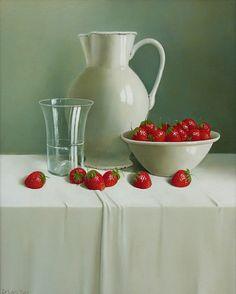 Tony de Wolf -  Strawberries 2010