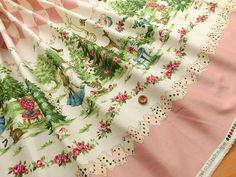 This shop sells tons of cute fabric from Japan that would be perfect for making your own lolita clothing!