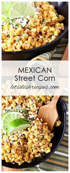 Mexican Street Corn Recipe (Torchy's Copycat) | Grilled corn in a creamy sauce with spices and lime juice.