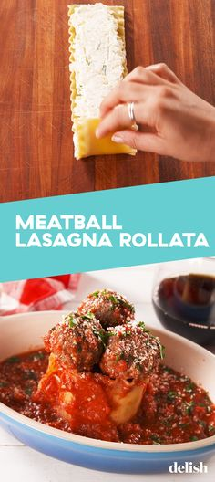 You Can Have Olive Garden's Meatball Lasagna Rollata In The Comfort Of Your Own KitchenDelish