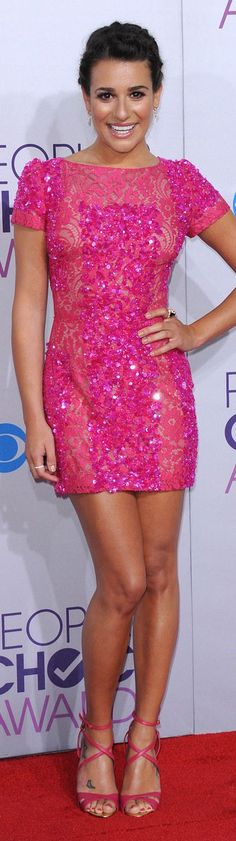 Beautiful Pink Mini Dress #glitter #pink #dress