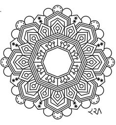 Intricate Mandala Coloring Pages, flower, henna, coloring book, kids, doodle…
