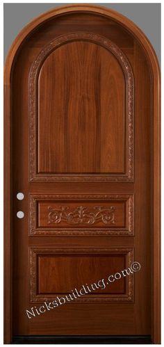 60 Best Round Top Door Images Wooden Doors Exterior