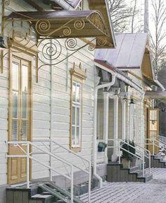 Finland - vanhoja taloja