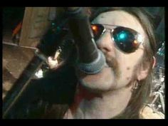 """Motorhead on the Young Ones. """"Ace of Spades,"""" of course. RIP Rik Mayall, RIP Lemmy."""