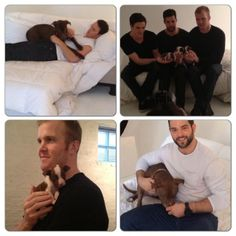 Blackhawks helping Pit Bulls - WHERE CAN I GET THIS CALENDAR AND DOES IT COME WITH A PUPPY??