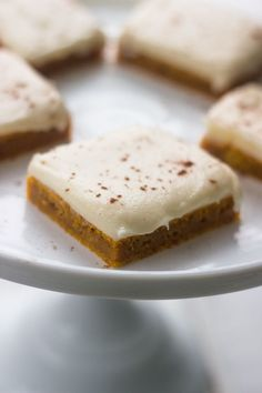 This recipe calls for a Jelly roll pan. If you do not have one, you can use two & pans or cut the recipe in half for one inch pan. The Jelly Roll pan makes about 36 bars. The post Pumpkin Bars with Cream Cheese Frosting appeared first on FoodBook. Pumpkin Deserts, Pumpkin Bars, Pumpkin Recipes, Fall Recipes, Holiday Recipes, Pumpkin Dishes, Pumpkin Pumpkin, Pumpkin Cupcakes, Pumpkin Bread