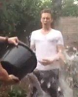 Hiddles wins wet t-shirt contest.