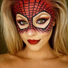 sigmabeauty | Our spidey senses are telling us that this #Halloween makeup by @jadedeacon is looking heroic! Be sure to enter our #SigmaHalloween contest if you haven't already. To enter: 1. Follow @sigmabeauty. 2. Tag @sigmabeauty in your post. 3. Use the hashtag #SigmaHalloween. Initial entry period is October 13th-22nd. Top 6 finalists will be announced on October 23rd for final voting. Open internationally. #October #