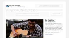 WP-ClearVideo, WordPress Responsive Video Theme