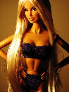 Barbie has changed a whole lot since I used to play with them when I was younger....